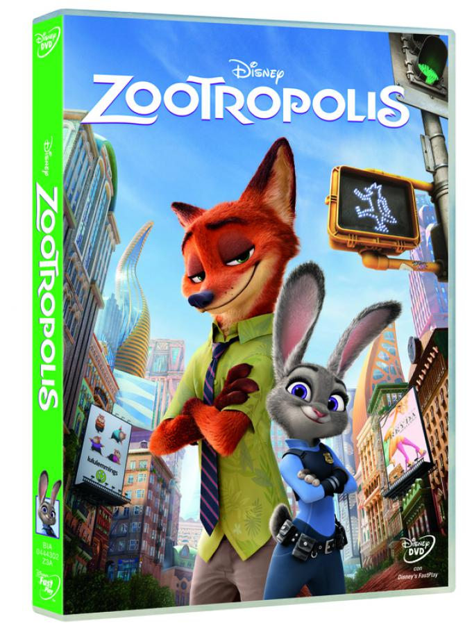 Zootropolis in DVD