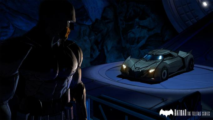 Batman e la batmobile
