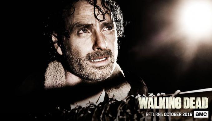 Character banner della settima stagione di The Waling Dead
