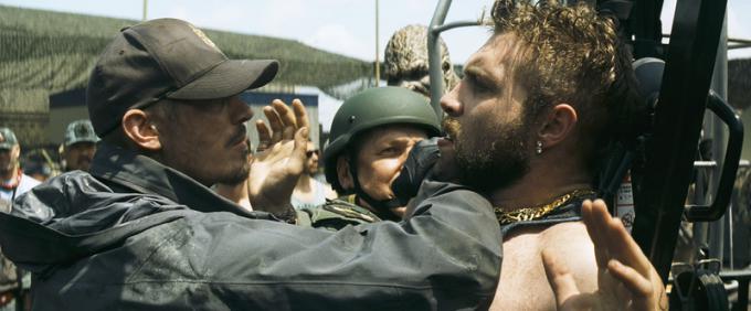 Il colonnello Rick Flag (Joel Kinnaman) e Boomerang (Jai Courtney)