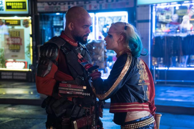Deadshot (Will Smith) e Harley Quinn (Margot Robbie)