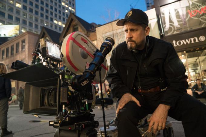 Il regista David Ayer