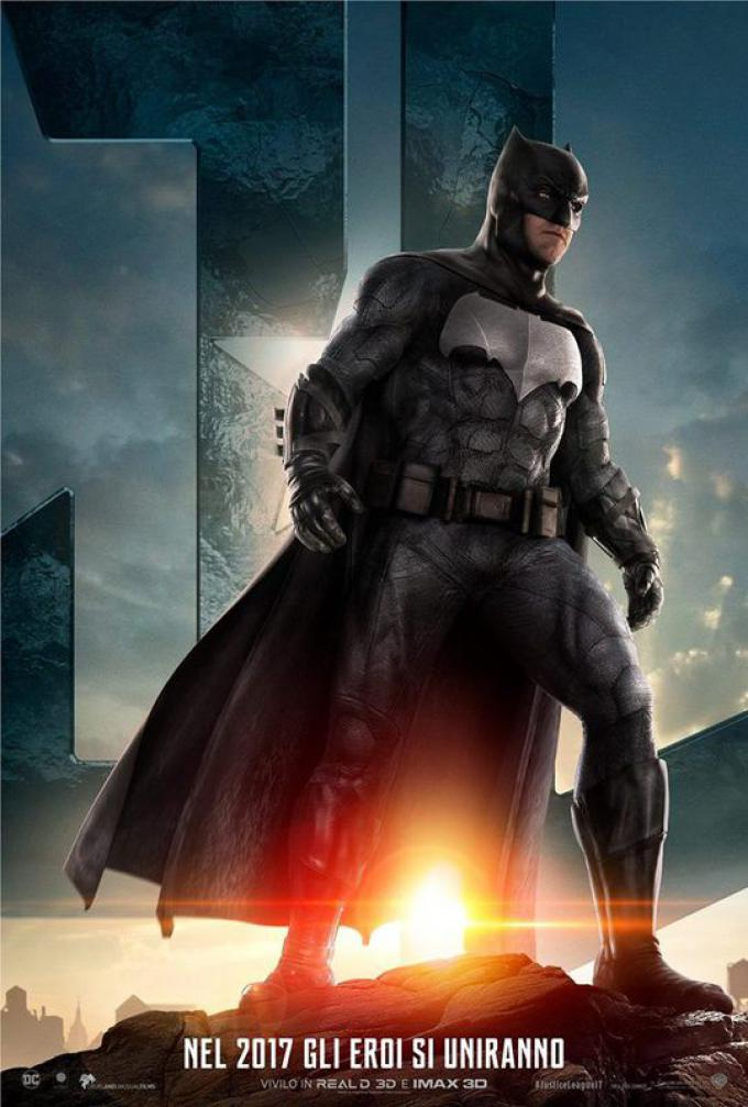 Batman (Ben Affleck), poster italiano