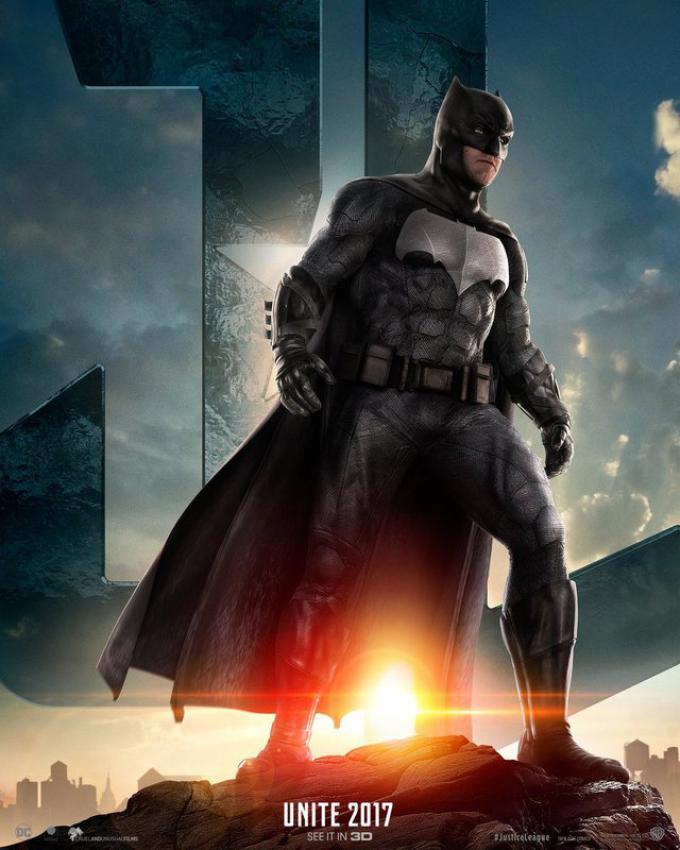 Batman (Ben Affleck), poster americano