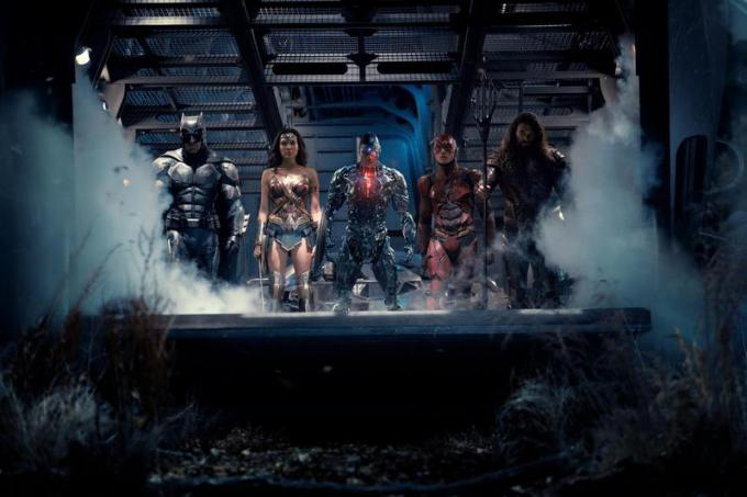 Justice League - scena dal film