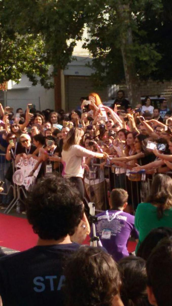 Lucy Lawless a Palermo