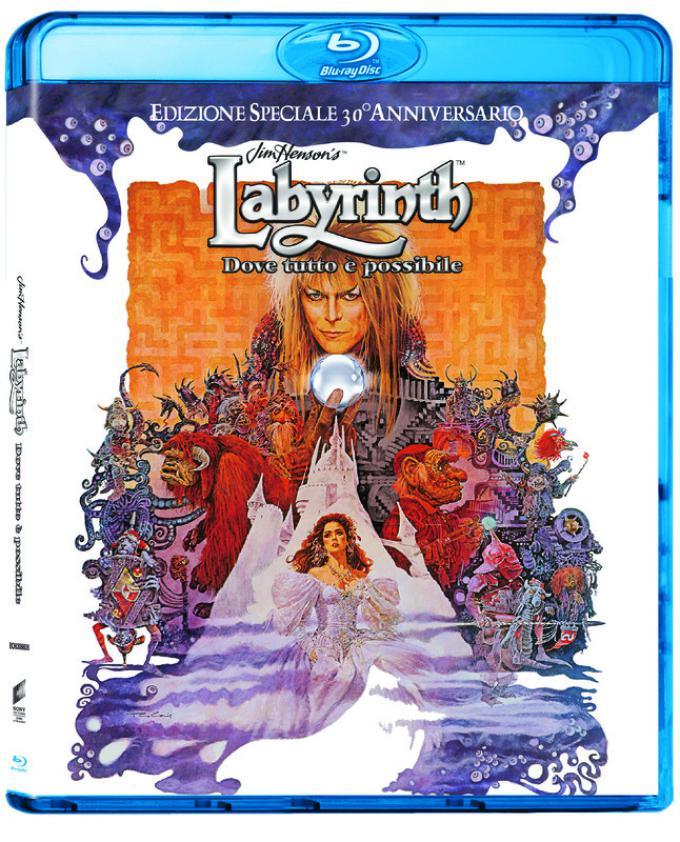 Labyrinth 30° anniversario - Blu-ray