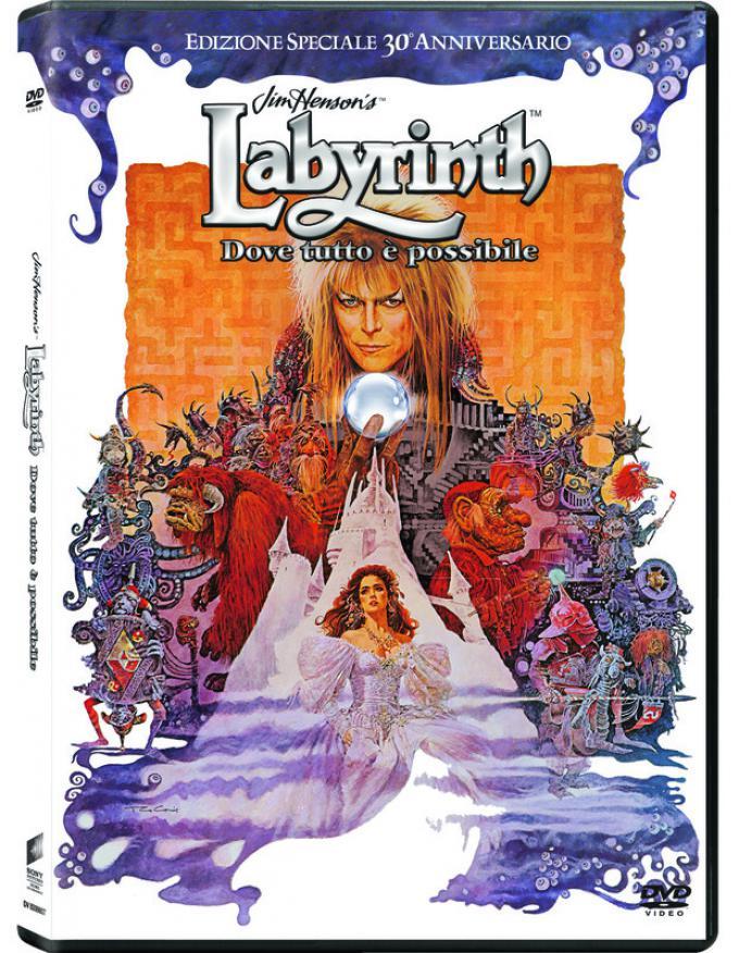 Labyrinth 30° anniversario - DVD