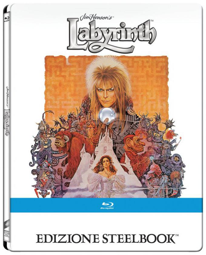 Labyrinth 30° anniversario - Blu-ray Steelbook