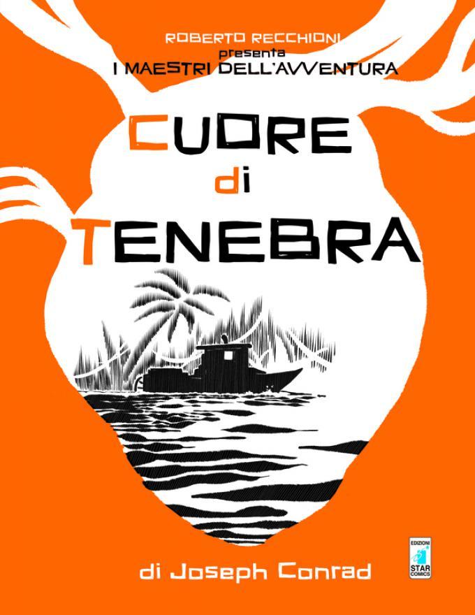 Cuore di tenebra - Copertina di Roberto Recchioni