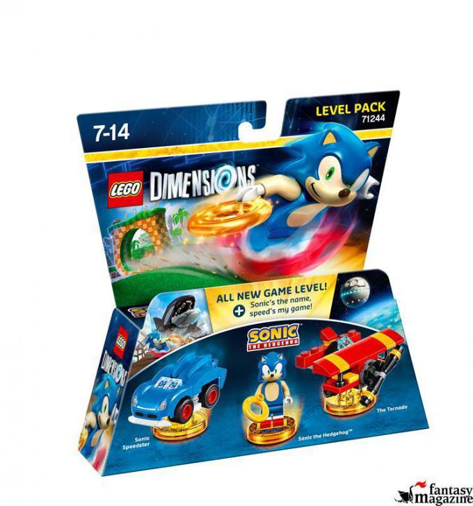 71244 Level Pack Sonic