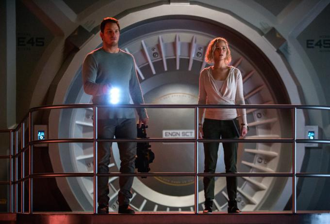 Chris Pratt e Jennifer Lawrence
