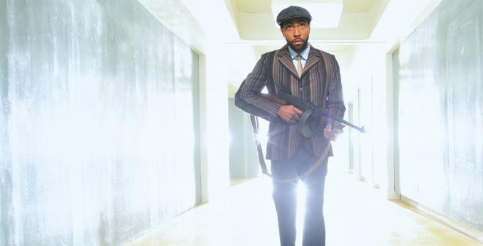 Jeremie Harris è Ptonomy Wallace in Legion