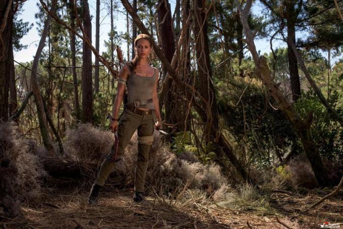 Alicia Vikander in Tomb Raider  - Foto di Graham Bartholomew