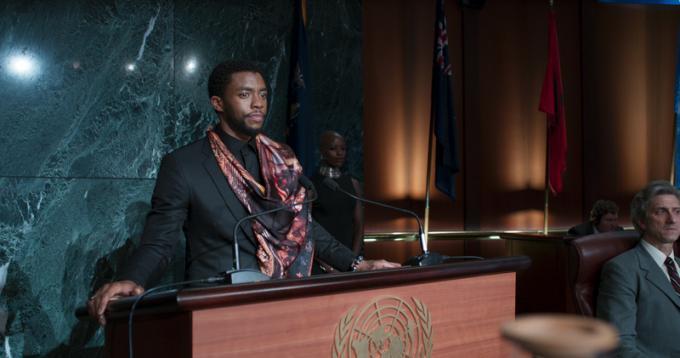 Black Panther: Chadkwick Boseman
