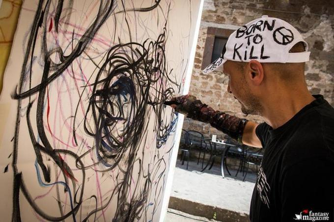 Graffiti di Vona