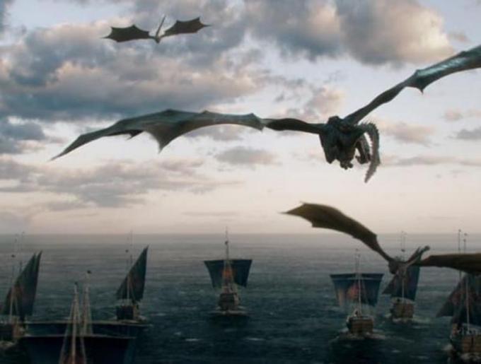 L'arrivo a Dragonstone