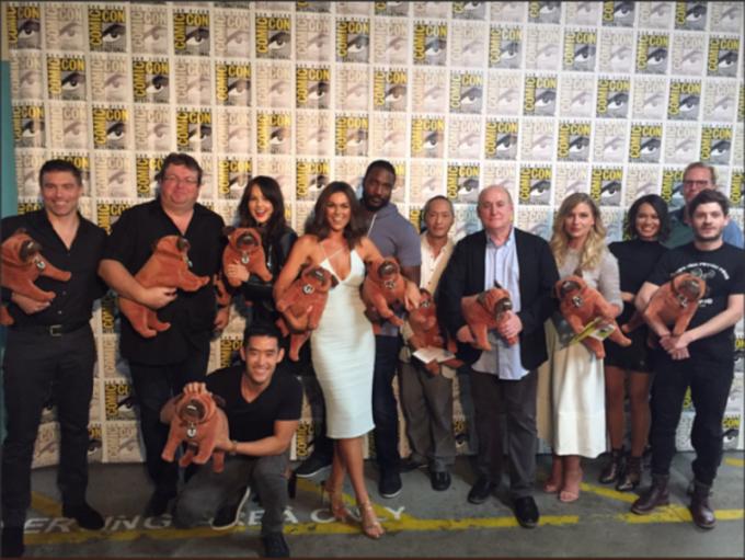 Il cast alla San Diego Comic-Con