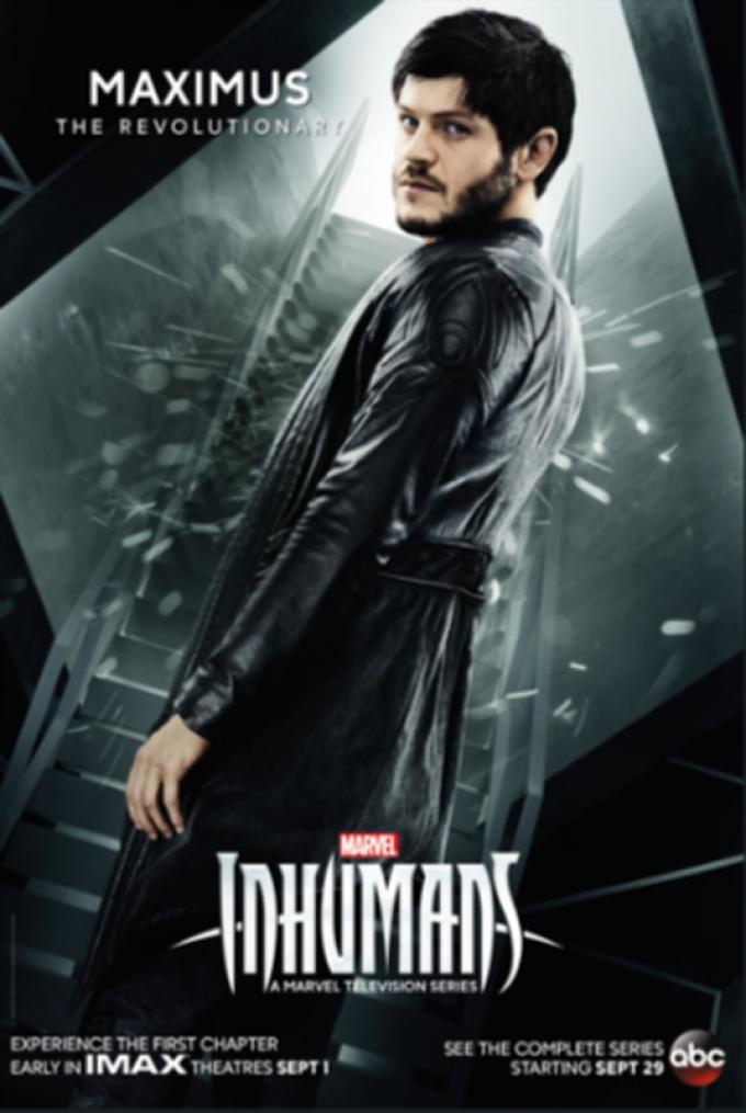 Il poster ufficiale di Maximus