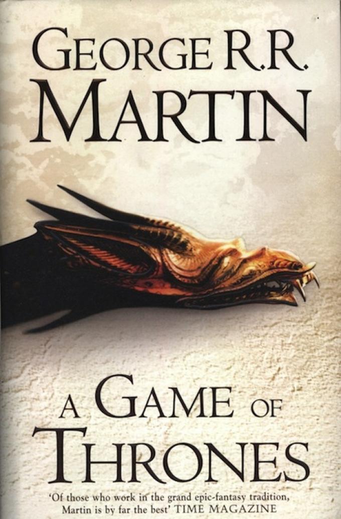 La copertina dell'edizione paperback inglese del 2011 di A Game of Thrones.
