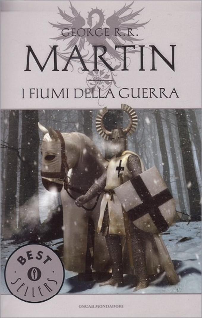 La copertina di I fiumi della guerra nell'edizione economica Mondadori.
