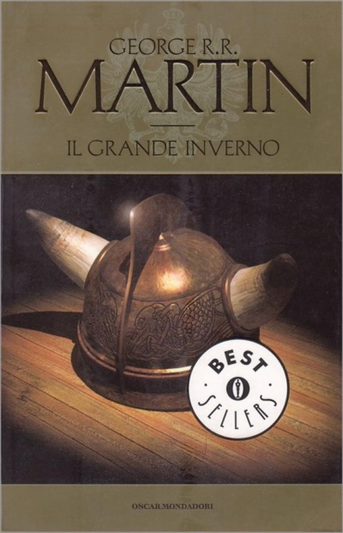 La copertina di Il grande inverno nell'edizione economica Mondadori.