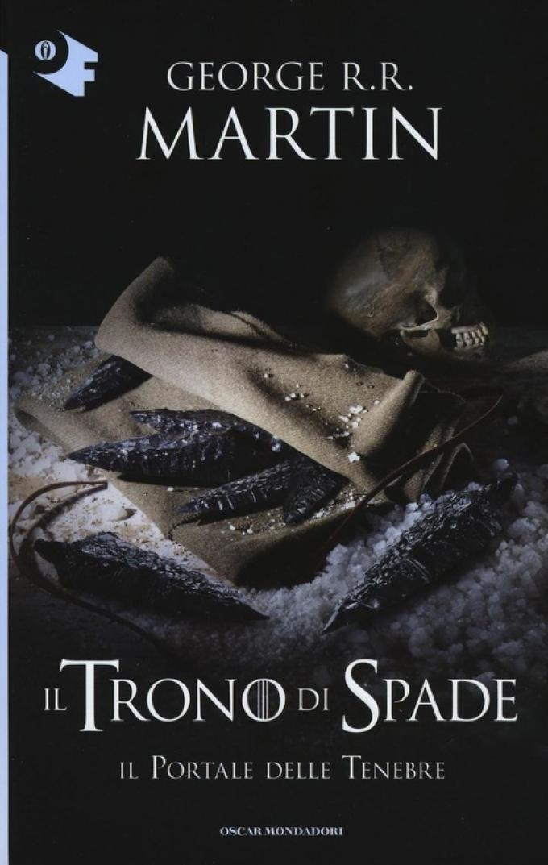 La copertina di Il portale delle tenebre nella collana Oscar fantastica di Mondadori.