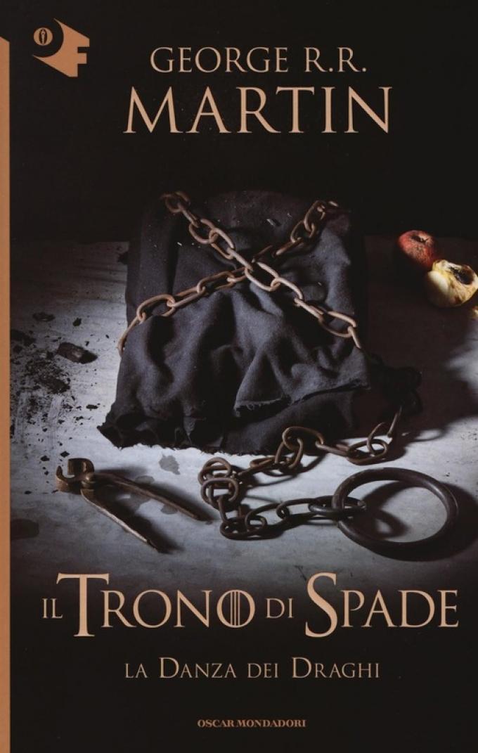 La copertina di La danza dei draghi nella collana Oscar fantastica di Mondadori.