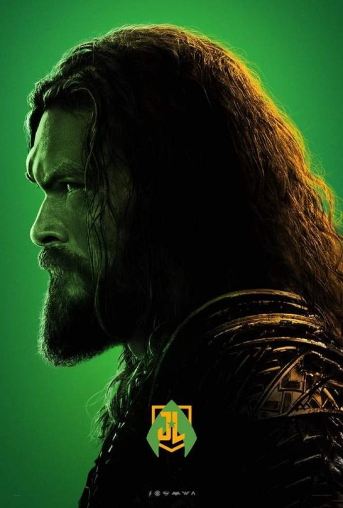 Aquaman poster Justice League