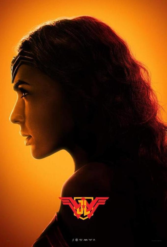 Wonder Woman poster Justice League