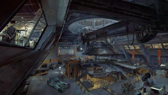 Il complesso segreto dell'area 52, situata in profondità sotto la città di Roswell. Parte di un vasto sistema di tunnel sotterranei e di strutture di ricerca, il comparto possiede molte tecnologie segrete naziste ed equipaggiamento sperimentale.