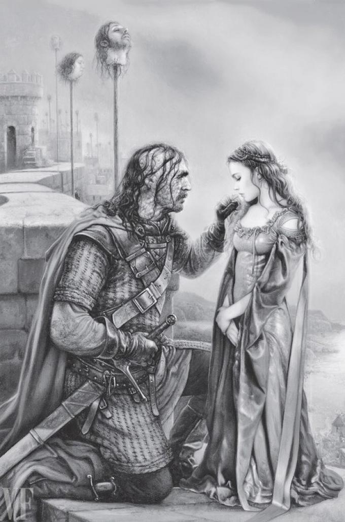 Arantza Sestayo, Sansa e il Mastino