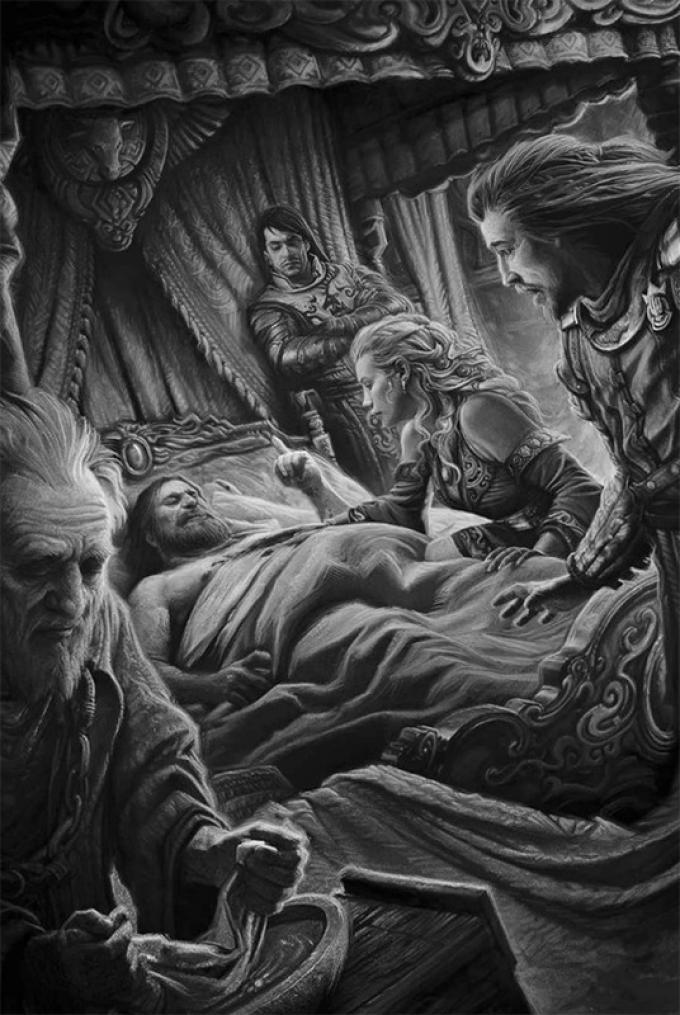 Victor Manuel Leza Moreno, La morte di Robert Baratheon