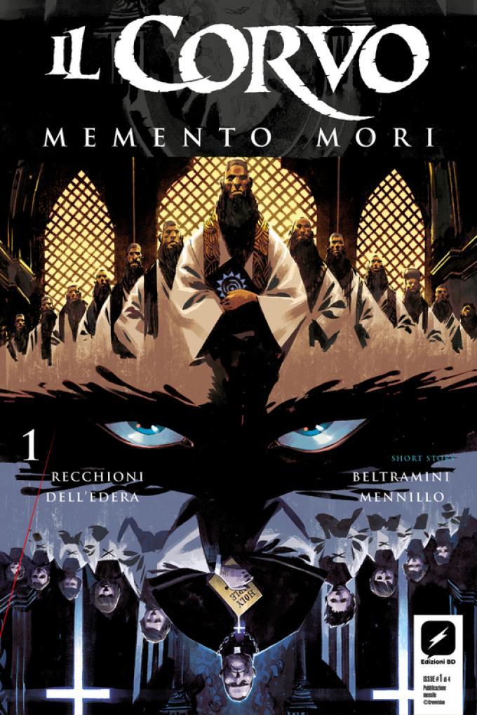 Il Corvo: Memento Mori - Copertina di Matteo Scalera