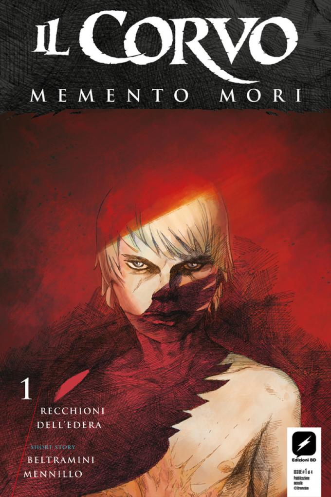 Il Corvo: Memento Mori - Copertina di Werther dell'Edera