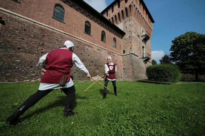La dimostrazione di un duello medievale. (Edizione 2017)