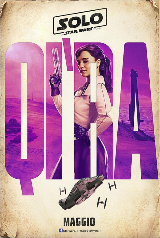 Emilia Clarke è Qi'ra