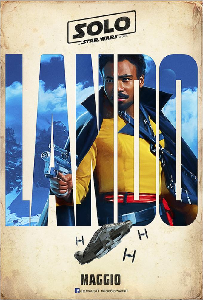 Donald Gloverè Lando Calrissian