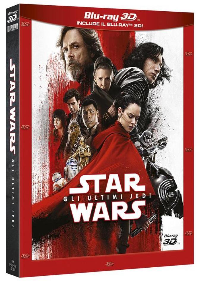 Star Wars: Gli Ultimi Jedi - Blu-ray 3D