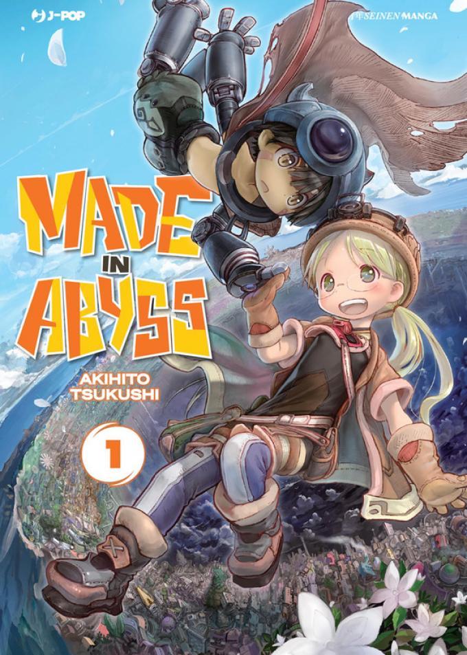 La copertina del primo volume di Made in Abyss