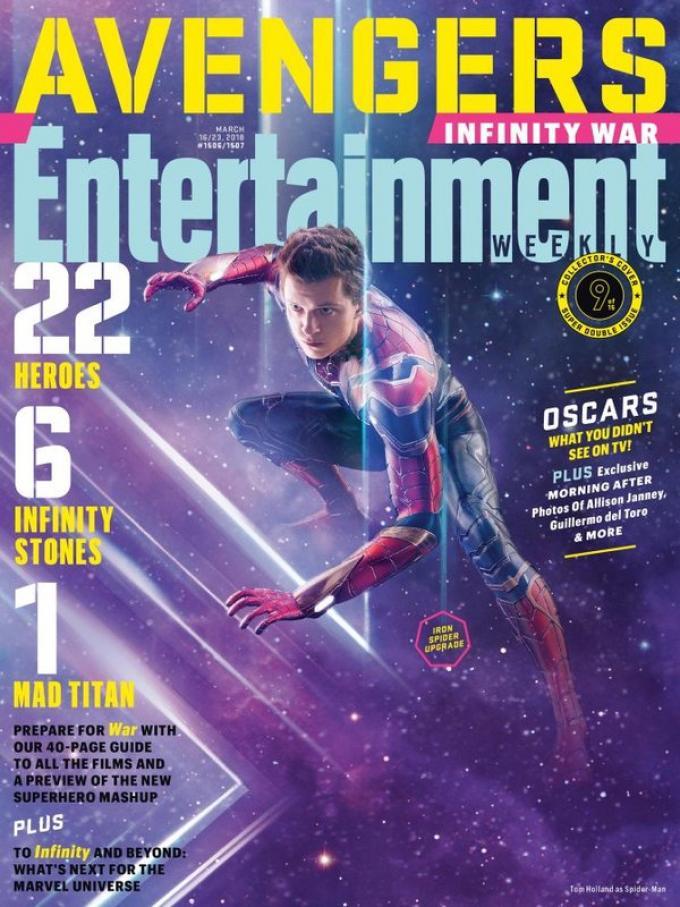 La cover di Entertainment Weekly dedicata a Spider-Man
