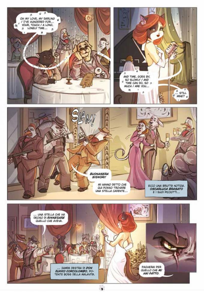 La quinta pagina di Norby - La Leggenda degli Animali Straordinari