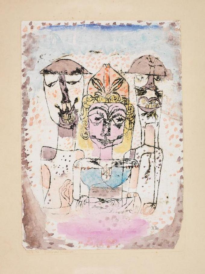 Klee, Greco e barbari, 1920, Kunstmuseum Bern