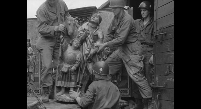 Liberazione di Berchtesgaden e recupero della collezione Goering ad opera della 101st Aiirbone Division. Courtesy of National Archives & Records Administration