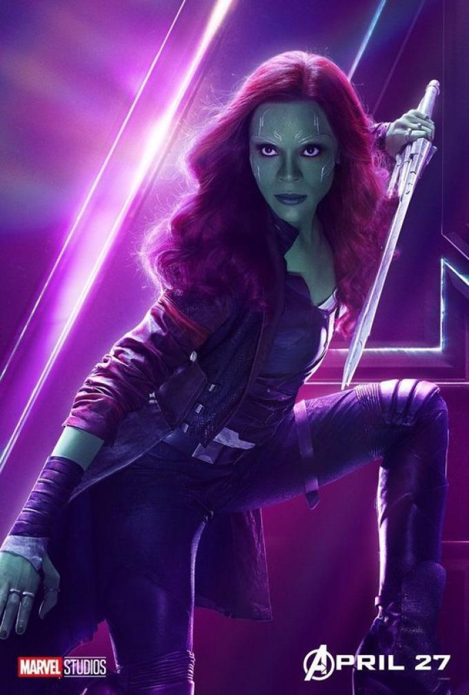 Per Gamora (Zoe Saldana) potrebbe essere la resa dei conti con il patrigno Thanos (Josh Brolin).