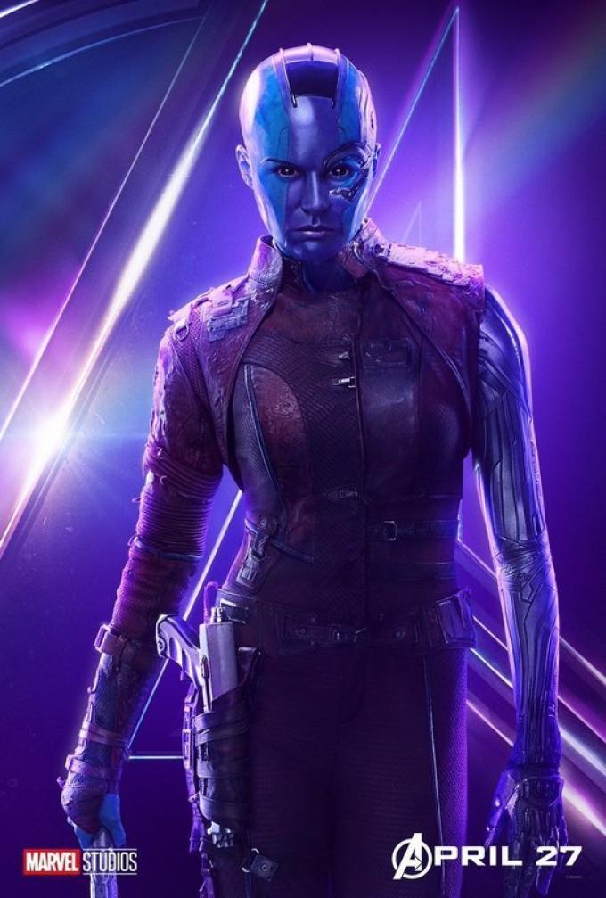 Anche per Nebula (Karen Gillan) si avvicina la resa dei conti con Thanos.