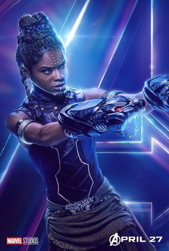 Nuove occasioni per sfoggiare la sua competenza per Shuri (Letitia Wright), la sorella di T'Challa.