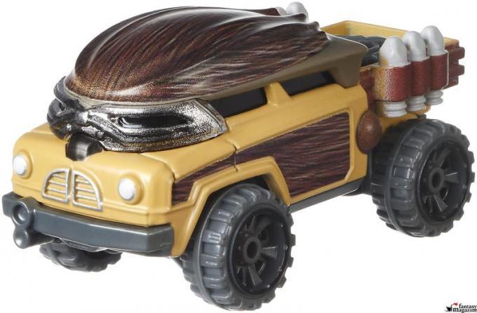 Hot Weels auto di Chewbacca