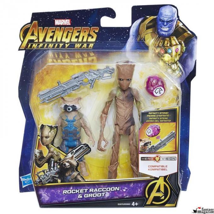 Infinity War Deluxe Figures Pack 01