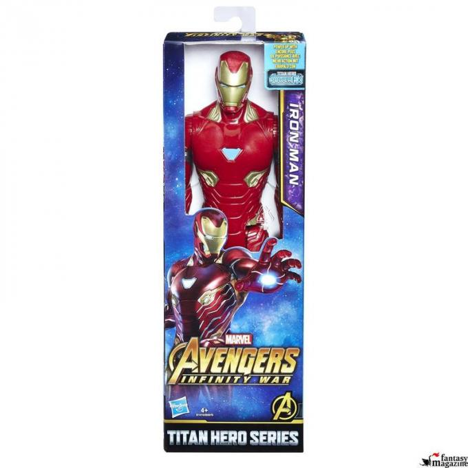 Titan Hero Iron Man Pack